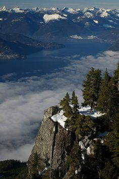 Off of the Howe Sound Crest Trail, Vancuver BC, Canada by Tim Gage, via Flickr #JetsetterCurator
