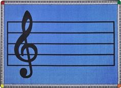 Joy Carpets Play Along© Classroom Rug, x Rectangle Blue Kid Essentials, Kids Play Area, Music Education, Kids Playing, Rug Size, Area Rugs, Kids Rugs, Joy, Classroom Rugs