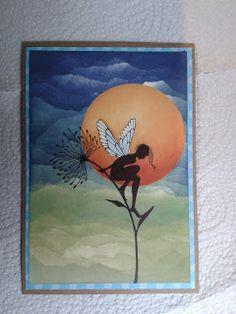 Papierzaubereien und mehr : Feen über Feen...Lavinia küßt Karte...