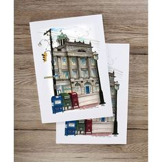 Do you love #stationary and #historic #Torontoillustrator #landmarks?  Like this if you do!