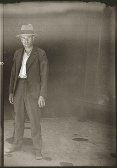 Portraits of Australian criminals in the sydney australia photo police mugshot photo photography 1920 42 featured art history Vintage Photographs, Vintage Photos, Vintage Portrait, 1920s, City Of Shadows, Crime, Portraits, Museum Collection, Mug Shots