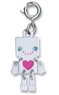 CHARM IT! Cute Moveable White Robot with Crystal Accents Charm - CHARM ONLY CHARM IT! by Ks Charming Designs, http://www.amazon.com/dp/B008O3JLBY/ref=cm_sw_r_pi_dp_6Qaqqb1C37P7M