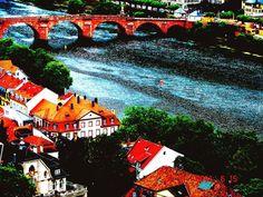 Heidleberg, Germany, the River Rhine; photo by me.