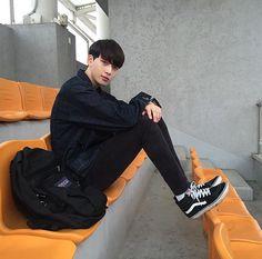 Korean Fashion Trends, Korean Street Fashion, Ulzzang Fashion, Boy Fashion, Style Fashion, Asian Boys, Asian Men, Korean Men, Korean Girl