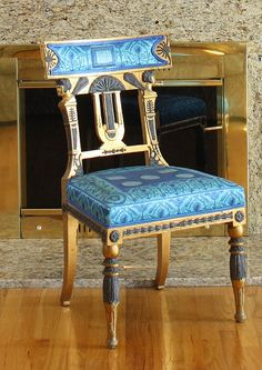 Gianni Versace Neoclassical Chair