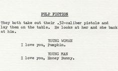Pulp Fiction (1994) | dir. Quentin Tarantino