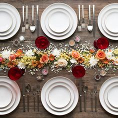 Seasonal Florals - How To Set Your Thanksgiving Table Like A Pro - Photos