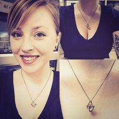 Stunning share from @breezemillard rockin' her caged Herkimer Diamond necklace!  She's got such beautiful big blue eyes.  Thank you for sharing with us girl. Love your guts! Be sure and follow me on Instagram for more gorgeous babes and witchy inspiration!
