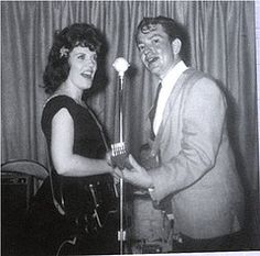 Shirley Collie Nelson, former wife and duet partner of Willie Nelson ...Willie on right