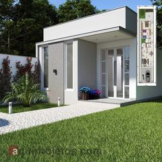 Small House Design, Home Design Plans, Garage Doors, Shed, Outdoor Structures, Windows, Outdoor Decor, Home Decor, Mary
