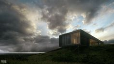 Tresde House on the hill by Sanchez Santiago