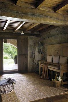 Una casa más que rústica en Cantabria · ElMueble.com · Casas