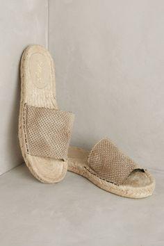 Anthropologie Miss Albright Silk Espadrille Slides Sock Shoes, Cute Shoes, Me Too Shoes, Shoe Boots, Fringe Sandals, Lace Up Sandals, Shoes Sandals, Foto Still, Crazy Shoes