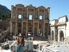The Library of Celsus, second oldest in the world! I love you Turkey!! www.beachslapme.com