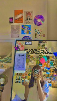 Indie Bedroom, Indie Room Decor, Cute Room Decor, Aesthetic Room Decor, Bohemian Decor, Aesthetic Style, Room Ideas Bedroom, Bedroom Decor, Bedroom Inspo