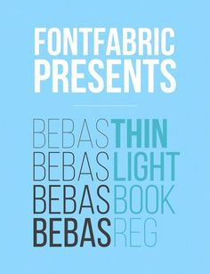 The 100 Greatest Free Fonts for 2014 Bebas Neue