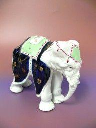 Porzellan Elefant
