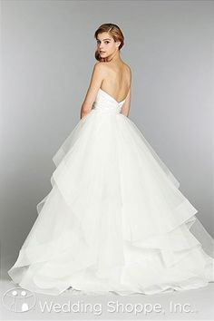 A wedding dress fit for the modern day princess.