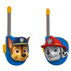 They'll keep in contact about future rescue missions using these Paw Patrol Chase & Marshall Walkie Talkies. Ryder Paw Patrol, Paw Patrol Toys, Halloween Party Decor, Halloween Kids, Halloween Christmas, Ranger, Easter Toys, Paw Patrol Birthday, Interactive Toys