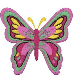 Patches For Everyone Iron-On Appliques - Butterfly