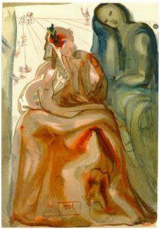 Salvador Dali Divine Comedy