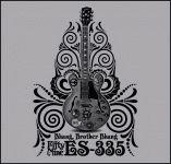 "Alvin Lee ""Gibson ES-335"" Ten Years After T Shirt"