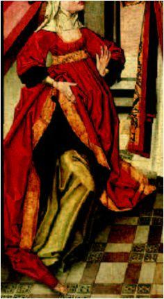 1480-90. Curación de la viuda Ciríaca, Maestro de Miraflores, Museo de Bellas Artes de Valencia