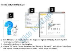 3d doubtful man with blue question mark finding solution to problem ppt graphic icon Slide02