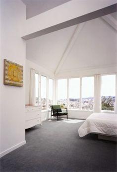 Carpet in light room