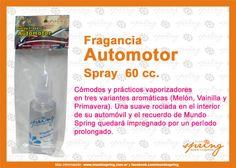 Pack Fragancia Automotor