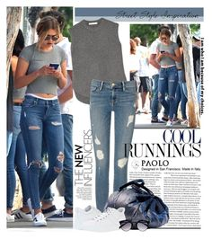 """Gigi Hadid in PaoloShoes"" by spenderellastyle ❤ liked on Polyvore"