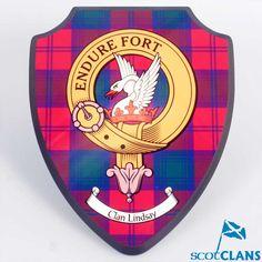 Lindsay Clan Crest Plaque