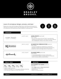 70 Well Designed Resume Examples For Your Inspiration   Resume Examples
