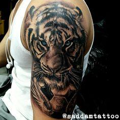 New tattoo antebrazo hombre tigre ideas Tiger Forearm Tattoo, Tatoo Tiger, Mens Tiger Tattoo, Tiger Tattoo Sleeve, Tiger Tattoo Design, Grey Tattoo, Sleeve Tattoos, Cool Arm Tattoos, Sick Tattoo
