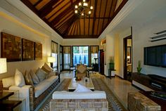bali living room | The Laguna, a Luxury Collection Resort & Spa Nusa Dua – Bali