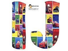 Alfabeto de Cars. | Oh my Alfabetos!