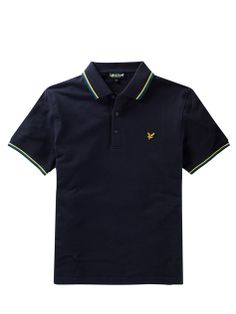Lyle and Scott Site Officiel | Lyle and Scott Polo à bordures contrastantes
