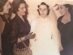 صورة نادرة للسيدة فيروز ليلة زفافها.