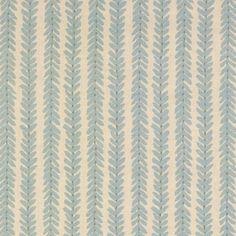 Schumacher WOODPERRY BLUE Fabric