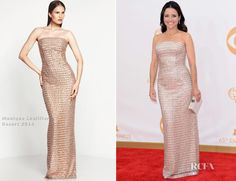Julia Louis-Dreyfus In Monique Lhuillier – 2013 Emmy Awards