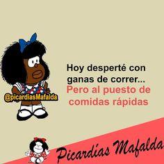 Mundo de Postales: HOY DESPERTÉ CON GANAS DE CORRER...