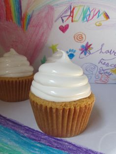 fluffernutter cupcakes... this would be the end of me seeing my feet!!