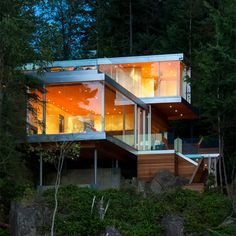 Gambier Island House by McFarlane Green Biggar Architecture + Design