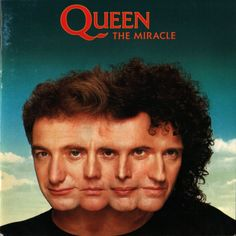 The Miracle is the thirteenth studio album by the British rock band Queen, released on 22 May 1989 by Parlophone Records in the United King. Queen Album Covers, 80s Album Covers, Classic Album Covers, Music Covers, Freddie Mercury, Lps, Albums Queen, Queen The Miracle, Queen Banda
