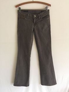 Citizens of Humanity Picasso 030 Stretch Low Waist Full Leg Gray Jeans 26 $278 | eBay