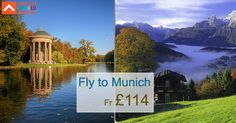Book cheap flights from London to Munich with Dream World Travel.Find Cheap  Flight Deals on all major airlines.  #Cheap #Flights #To #Munich #CheapFlights #To #Europe