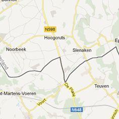 "Fietsroute ""NOORBEEK - TEUVEN - BEUSDAL - MORESNET - VIJLEN - GULPERBERG - HEIJENRATH"" - Routebeschrijving | RouteYou"