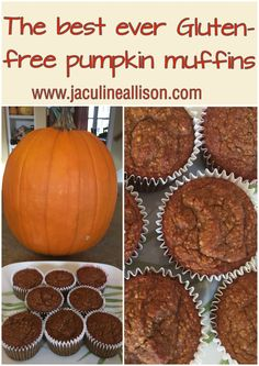 The best ever gluten-free pumpkin muffins