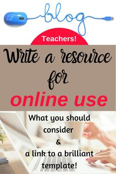 Write a resource that you can share with your students online. A quick read about things you should consider plus there's a link to a handy template that will save you LOTS of time and stress! Note Taking Strategies, Reading Strategies, Learning Activities, Teaching Resources, Teaching Ideas, Esl Lessons, English Lessons, How To Use Powerpoint, Academic Vocabulary
