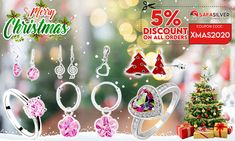 "Christmas Brings You Happiness, Safasilver Brings you Excitement ""5% of Additional discount"" for this festival. Coupon Code : XMAS2020 Only for You with Exclusive Discount on All Category Jewels like never before Shop Now - www.safasilver.com #Christmas #Offer #Xmas #2020"